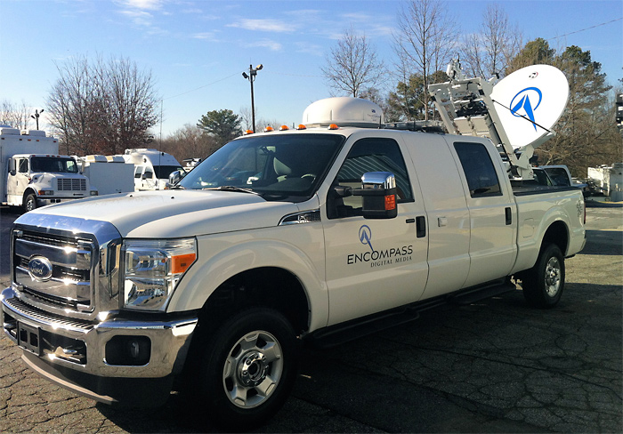 Pickup Truck Based Storm Chaser Accelerated Media