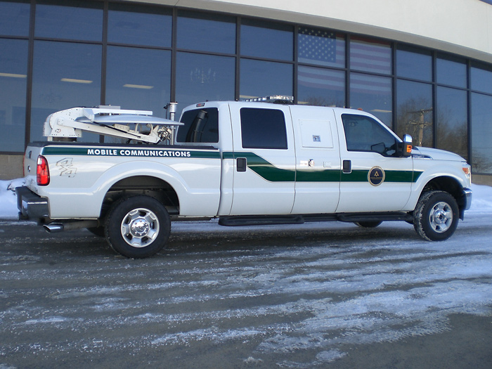 Ford Extended Warranty >> Pickup Truck Based Storm Chaser | Accelerated Media Technologies