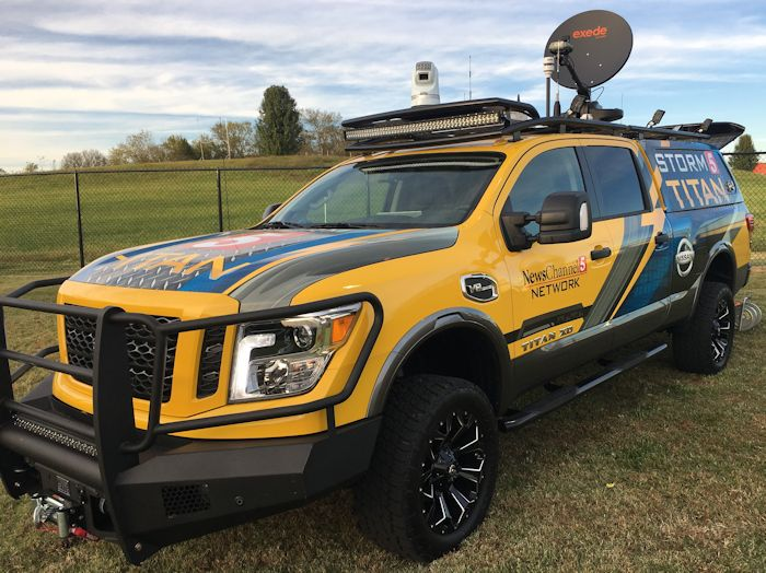 Chevy Extended Warranty >> Pickup Truck Based Storm Chaser | Accelerated Media ...